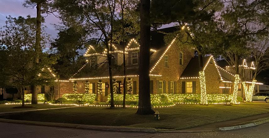 Christmas Light Install Houston